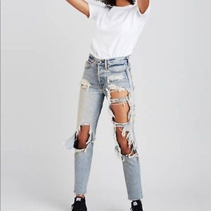 LEVIS x Rolling Stone Wedgie Jeans